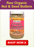 Raw Organic Nut and Seed Butters - Shop Now