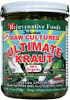 Raw organic Ultimate Kraut sauerkraut with boost of nutrition from vitamin-rich organic vegetables